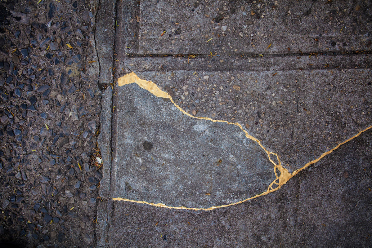 The Art of Kintsugi and Sacrifices in Sidewalks on Spark & Echo